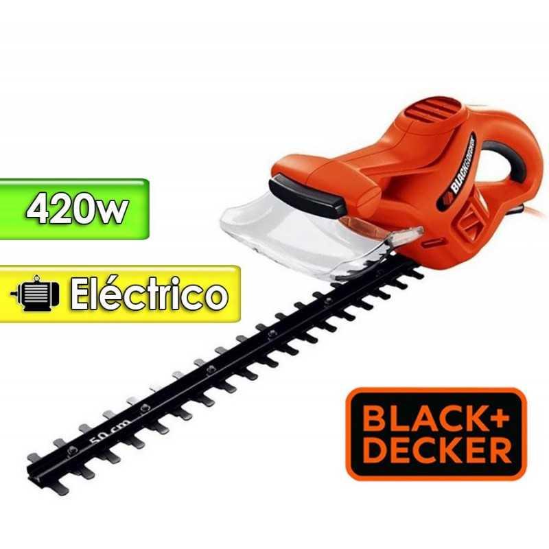 Podadora de Cerca Viva Motor Electrico 420 W - 50 cms - Black+Decker - HT500