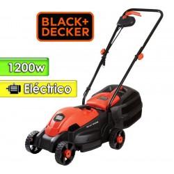 Corta Pasto Motor Electrico 1200 W - Black+Decker - Chasis Plastico - GR1000-B2C