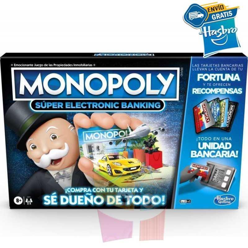Monopoly Super Banco Electrónico - Hasbro
