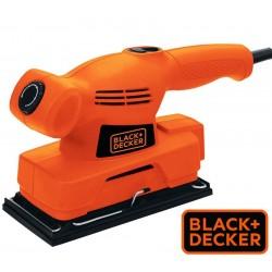 "Lijadora Orbital - Base 1/3"" - 138W - Black+Decker - CD455"