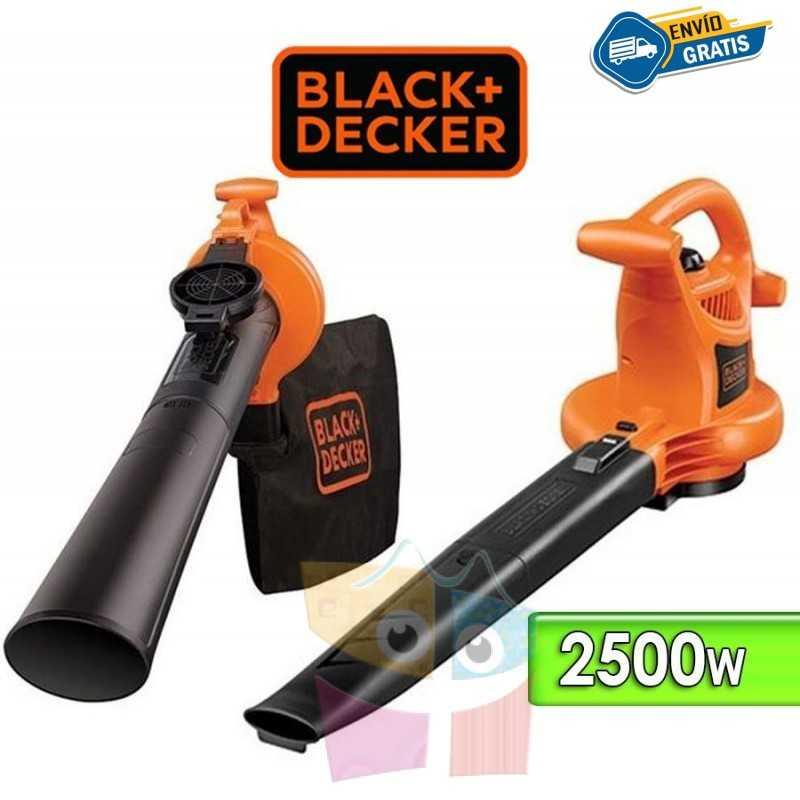Soplador y Aspirador de hojas - 2500W - Black+Decker - BV25