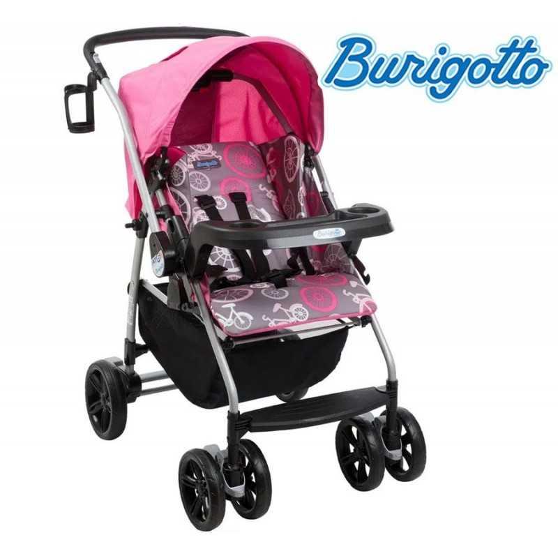 Carrito de bebé - Burigotto - AT6 K - Negro Gris