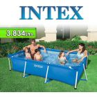 Piscina Intex - 28272 -  3.834 Ltrs. - Rectangular - Estructura Metálica