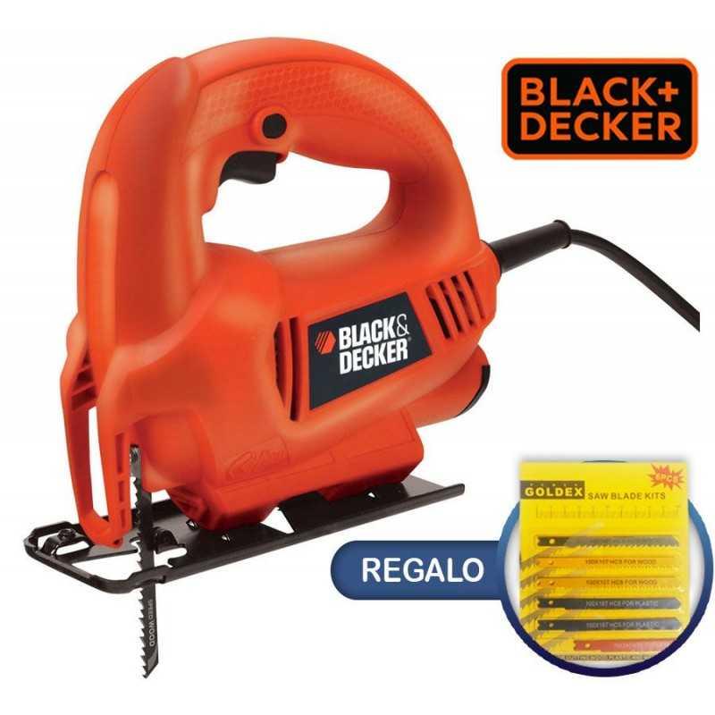 Sierra Caladora - 400W - Black+Decker - KS410