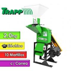 Triturador Forrajera Electrica 2 Hp - 10 Martillos - Trapp - TRF 300 con Correa