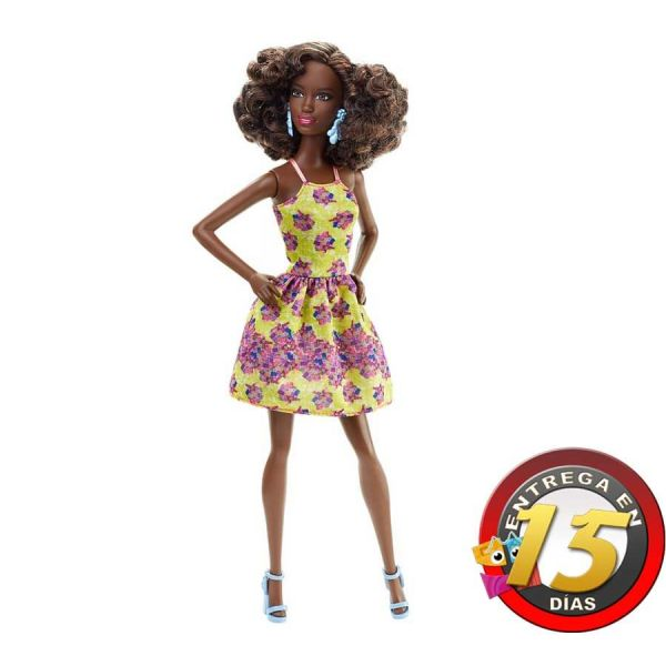 Muñeca Barbie Fashionistas - Fancy Flowers