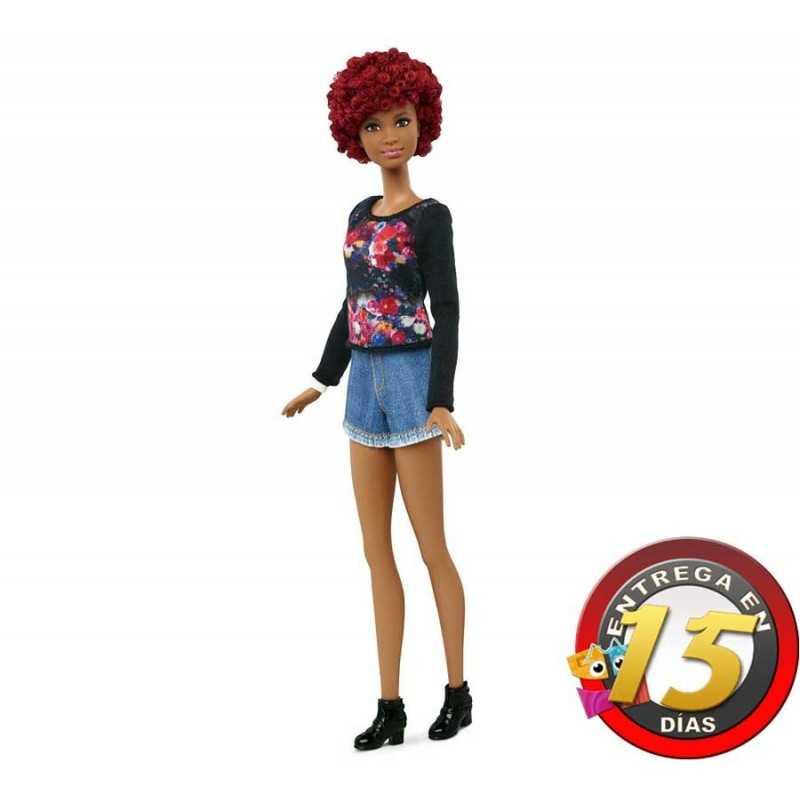 Muñeca Barbie Fashionistas - Fab Fringe