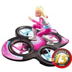 Muñeca Barbie - Aventura Espacial con Drone Volador