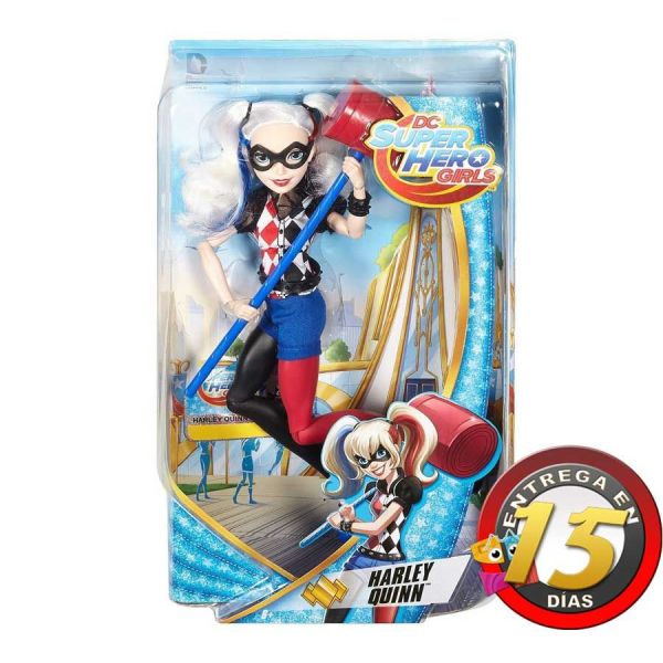 Muñeca - DC Super Hero Girls - Harley Quinn - Mattel