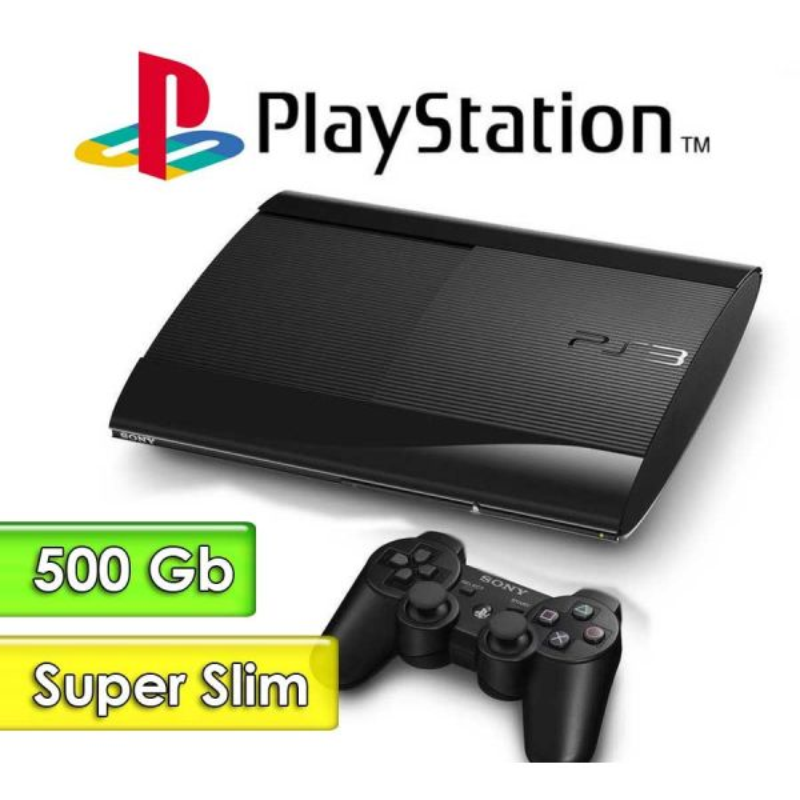 PlayStation 3 Super Slim - Sony - Con 500 GB