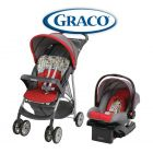 Kit Carrito de bebé + Baby Seat - Graco - LiteRider Click Connect Travel System Typo - 1918631