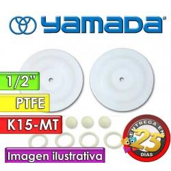 """Kit de reparo de partes Húmedas - Yamada - K15-MT - para bombas NDP-15BAT y NDP-15BST de 1/2"""""""