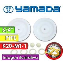 """Kit de reparo de partes Húmedas - Yamada - K20-MT-1 - para bombas NDP-20BAT y NDP-20BST de 3/4"""""""
