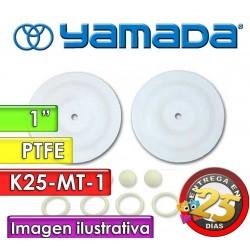 """Kit de reparo de partes Húmedas - Yamada - K25-MT-1 - para bombas NDP-25BAT y NDP-25BST de 1"""""""
