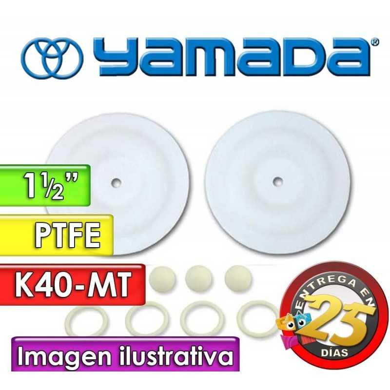 """Kit de reparo de partes Húmedas - Yamada - K40-MT - para bombas NDP-40BAT y NDP-40BST de 1.1/2"""""""