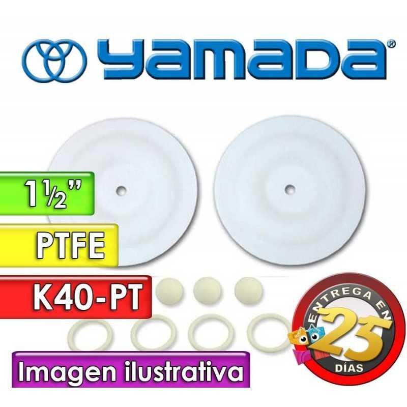 "Kit de reparo de partes Húmedas - Yamada - K40-PT - para bombas NDP-40BPT de 1.1/2"""