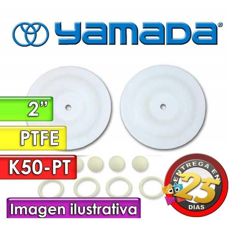 "Kit de reparo de partes Húmedas - Yamada - K50-PT - para bombas NDP-50BPT de 2"""