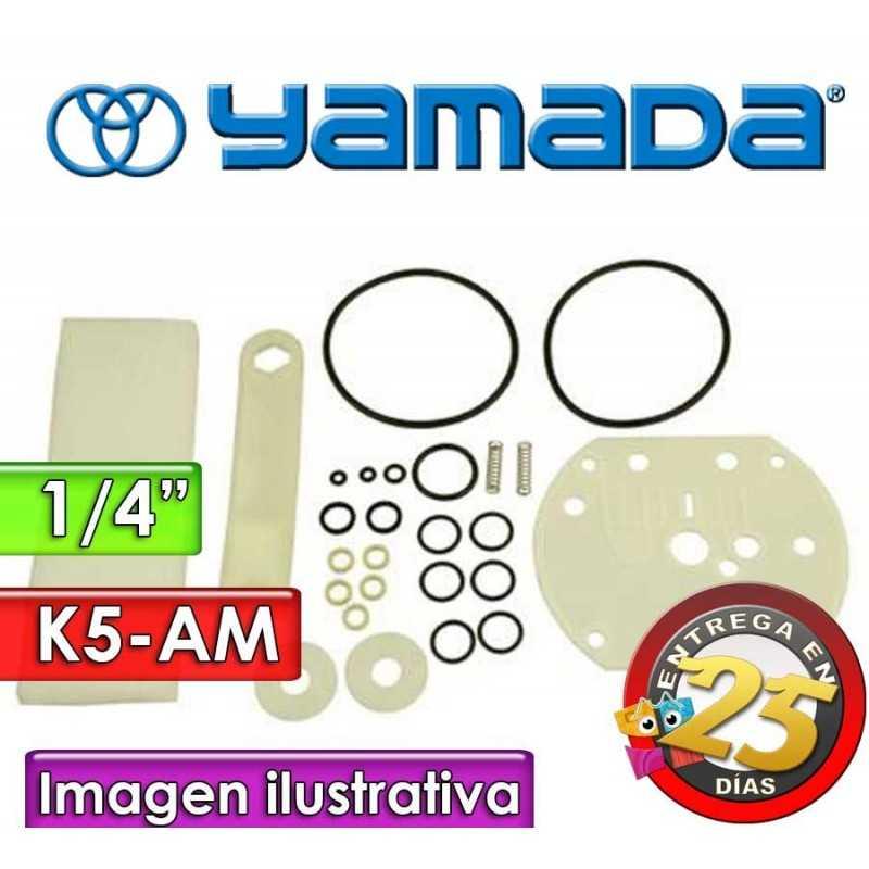"""Kit de reparo de motor neumatico - Yamada - K5-AM - para bombas NDP-5FPT y NDP-5FST de 1/4"""""""