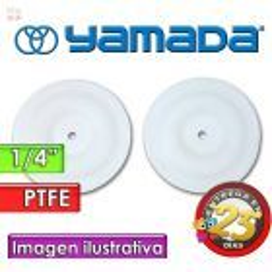"""Diafragmas de PTFE - Yamada - 771093 - para bombas NDP-5 de 1/4"""""""