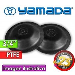 """Diafragmas de BUNA - Yamada - 772958 - para bombas NDP-20 de 3/4"""""""