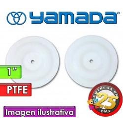 """Diafragmas de PTFE - Yamada - 771110 - para bombas NDP-25 de 1"""""""