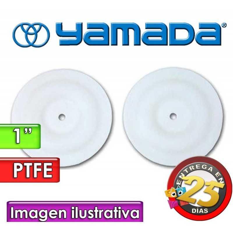 "Diafragmas de PTFE - Yamada - 771110 - para bomas NDP-25 de 1"""