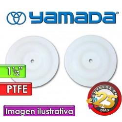"""Diafragmas de PTFE - Yamada - 770814 - para bombas NDP-40 de 1.1/2"""""""