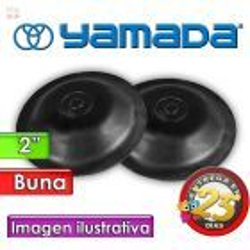 """Diafragmas de BUNA - Yamada - 771702 - para bombas NDP-50 de 2"""""""