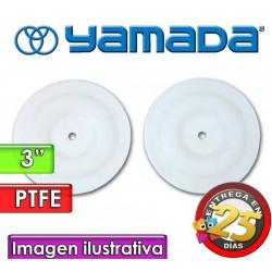 """Diafragmas de PTFE - Yamada - 770934 - para bombas NDP-80 de 3"""""""