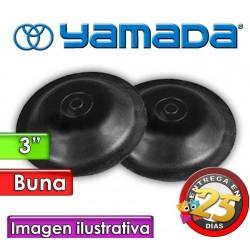 """Diafragmas de BUNA - Yamada - 771704 - para bombas NDP-80 de 3"""""""