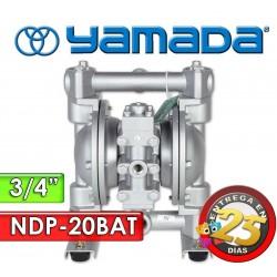 "Bomba Neumática Yamada - NDP-20BAT - Diámetro 3/4"" - Cuerpo de Aluminio, Internos de PTFE"