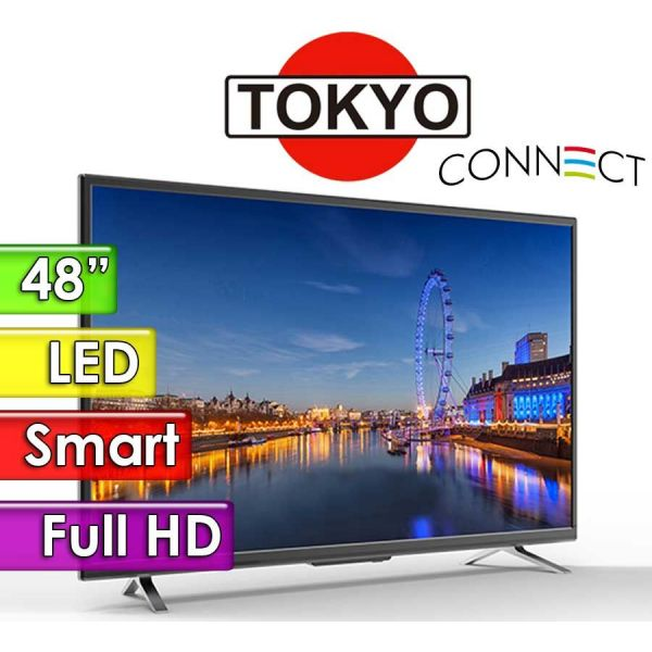 """TV Led HD 48"""" Smart - Tokyo - CONNECT TVTOKTCLED48S"""