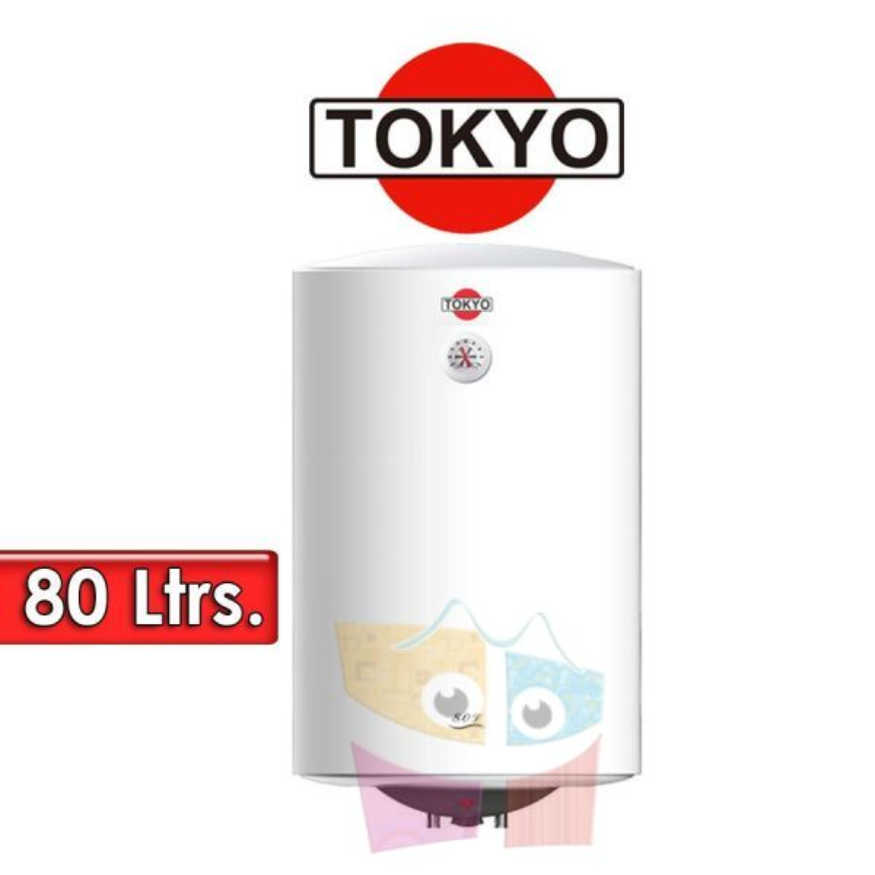 Termocalefón 80 Litros Vertical - Tokyo - D80-15F3A - 1500W