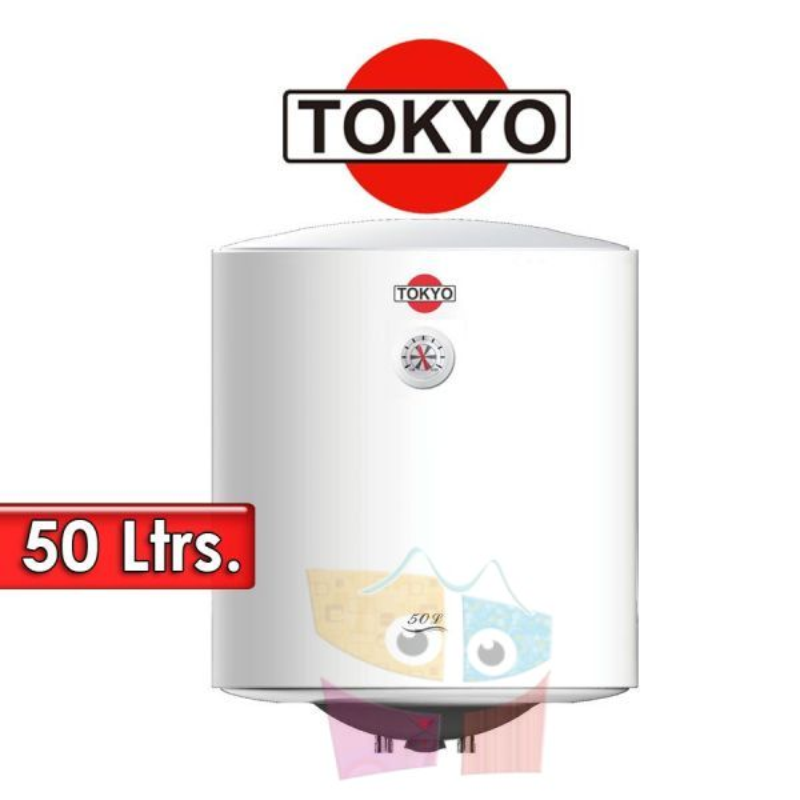 Termocalefón 50 Litros Vertical - Tokyo - D50-15F3 - 1500W
