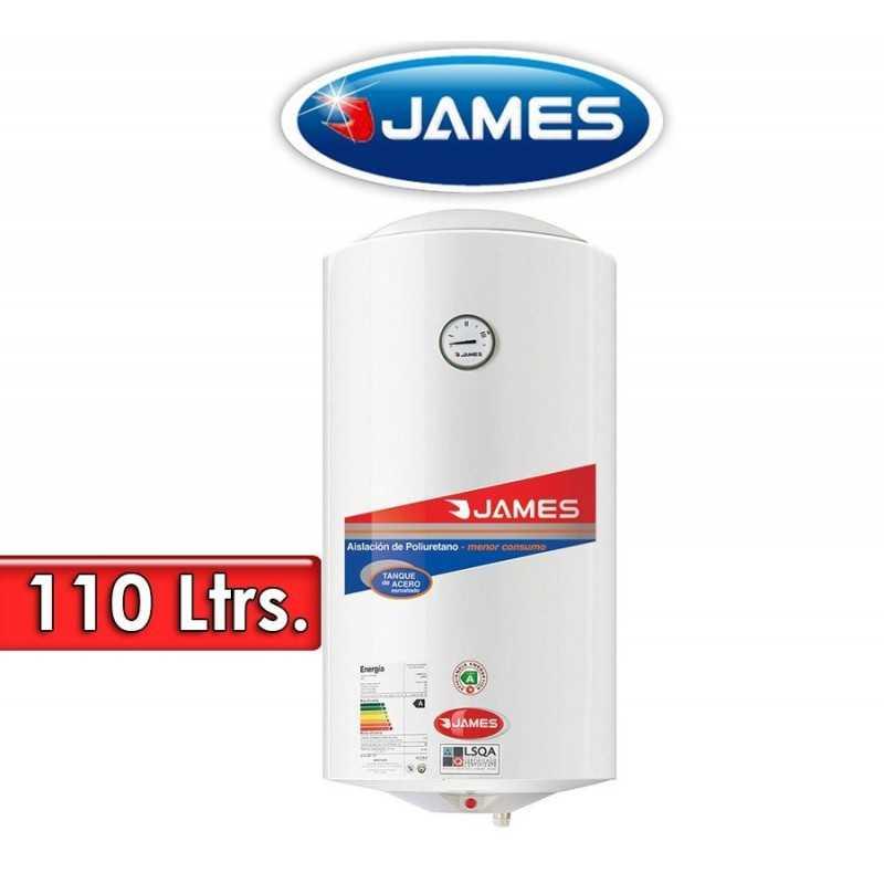 Termocalefón 110 Litros Vertical - James - Tanque de Acero
