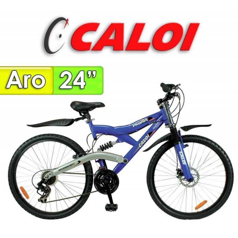 """Bici Aro 20"""" Profox 24 - Caloi - Azul - 18 Velocidades"""