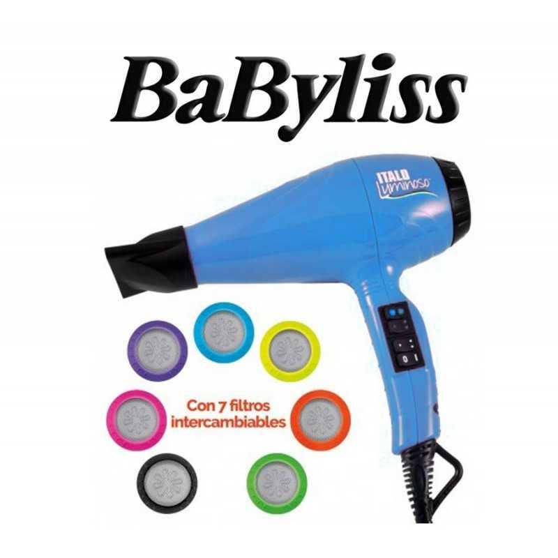 Secador de Pelo Italo Luminoso - Babyliss - Azul