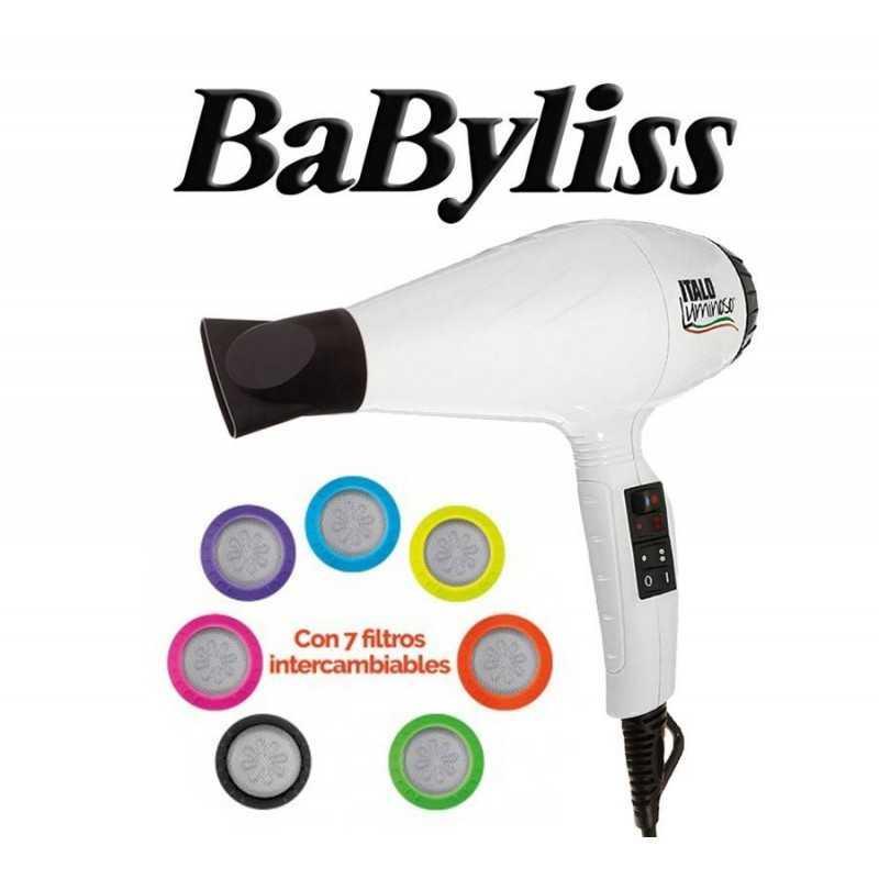 Secador de Pelo Italo Luminoso - Babyliss - Blanco