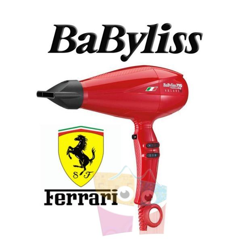 Secador de Pelo Profesional Volare V1 Long - Babyliss - con motor Ferrari