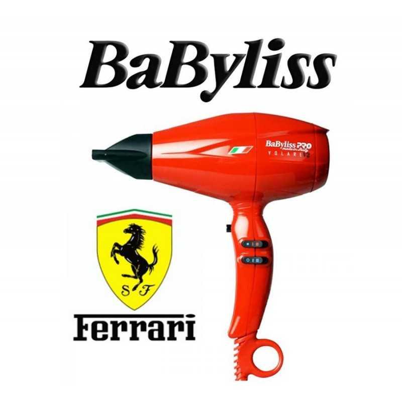 Secador de Pelo Profesional Volare V2 Compacto - Babyliss - con motor Ferrari