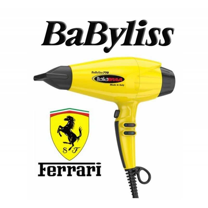 Secador de Pelo Profesional Brava - Babyliss - con motor Ferrari