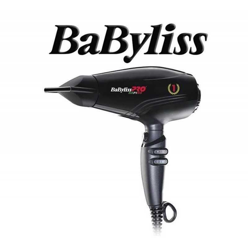 Secador de Pelo Profesional Rapido - Babyliss - Ultraligero con motor Ferrari