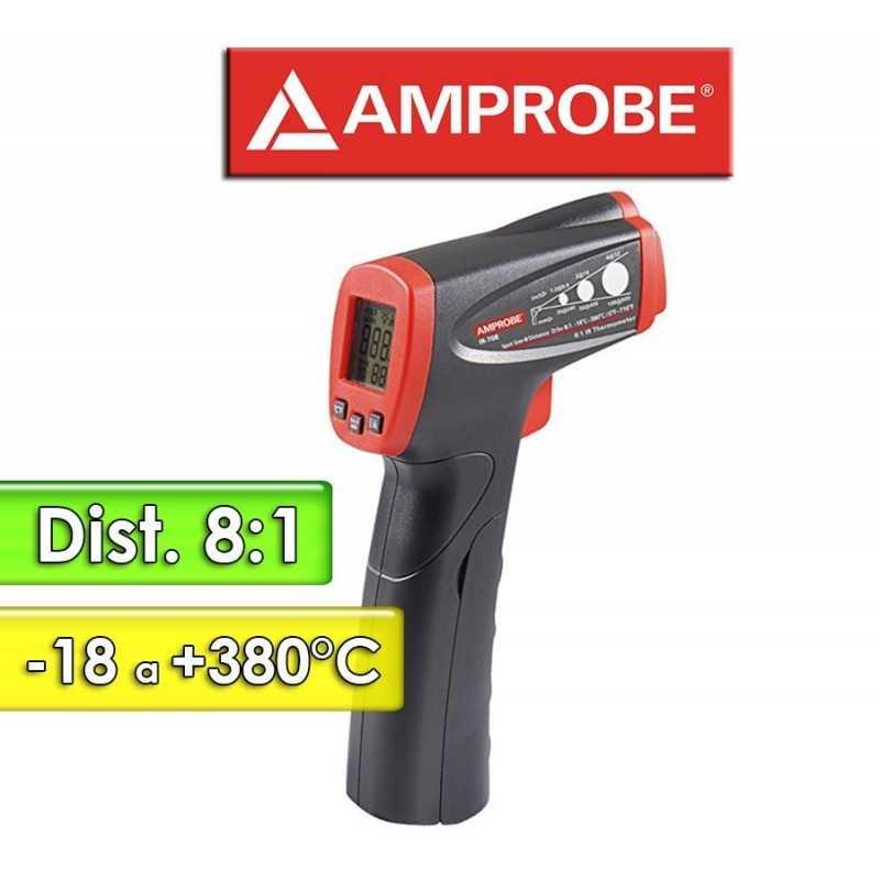 Termómetro Infrarrojo - Amprobe - IR-708 - Escala -18 a +380°C   /  8:1