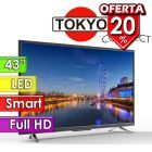 "TV Led Full HD 43"" Smart - Tokyo - CONNECT TVTOKCLED43SM-N"