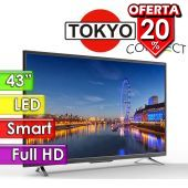 "TV Led FHD 43"" Smart - Tokyo - CONNECT TVTOKTCLED43S"