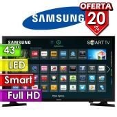"TV Led Full HD 43"" Smart - Samsung - UN43J5200AGXPR"