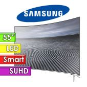 "TV Led UHD 55"" Smart 4K Curvo - Samsung - UN55KS7500GXPR - Linea Metálica"