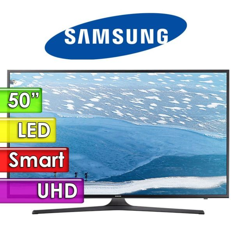 "TV Led UHD 50"" Smart 4K - Samsung - UN50KU6000GXPR"