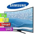 "TV Led UHD 55"" Smart 4K Curvo - Samsung - UN55KU6300GXPR"