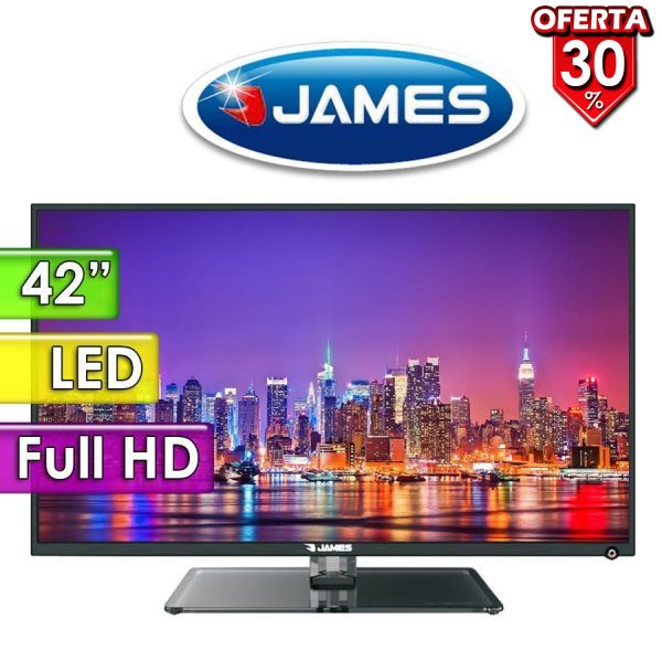 "TV Led Full HD 42"" - James - TVJLED42"